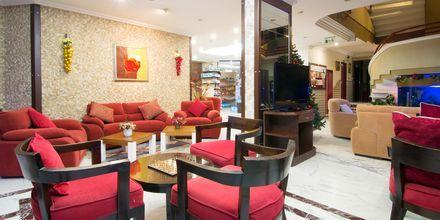 Lobbybaren på hotell My Home i Alanya, Turkiet.