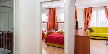 Tvårumslägenhet på hotell My Home i Alanya, Turkiet.