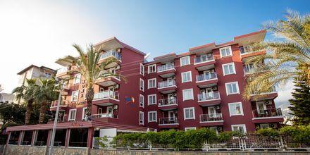 Hotell My Home i Alanya, Turkiet.