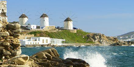 Mykonos stad, Grekland.