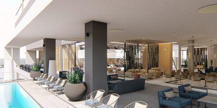 Skissbild på hotell Myrion Beach Resort i Gerani på Kreta, Grekland.