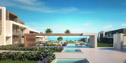 Hotell Myrion Beach Resort i Gerani på Kreta, Grekland.