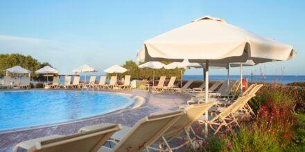 Relaxpoolen på hotell Mythos Beach Resort i Afandou, Rhodos.