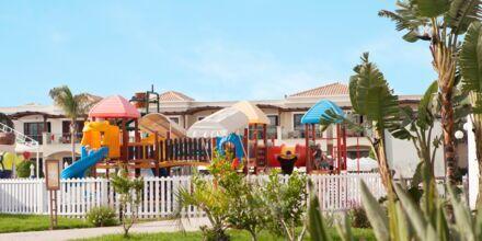 Lekplats på hotell Mythos Beach Resort i Afandou, Rhodos.