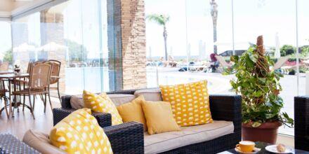 Mondo Café på Hotell Mythos Beach Resort  i Afandou på Rhodos.