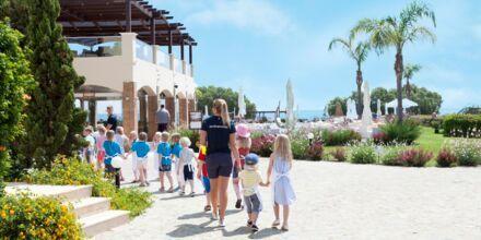 Barnklubben på hotell Mythos Beach Resort i Afandou, Rhodos.