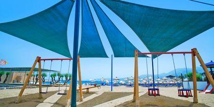 Lekplats på hotell Nana Golden Beach i Hersonissos på Kreta, Grekland.