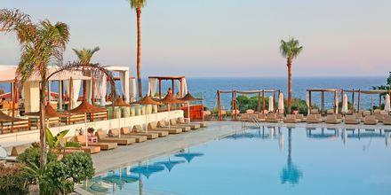 Poolområde på Napa Mermaid i Ayia Napa, Cypern.