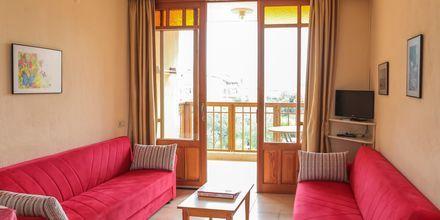 Tvårumslägenhet på hotell Nar Apart i Alanya, Turkiet.