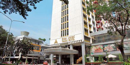 Hotell Narai i Bangkok, Thailand.