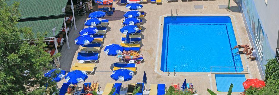 Hotell Narcis i Alanya, Turkiet.