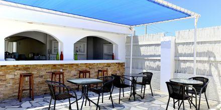 Poolbar på hotell Naxos Holidays i Naxos stad, Grekland.