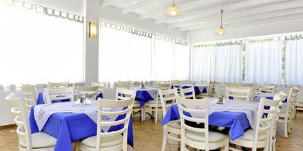 Restaurang på hotell Naxos Holidays i Naxos stad, Grekland.