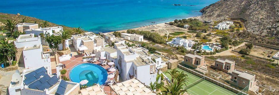 Hotell Naxos Magic Village på Naxos i Grekland.