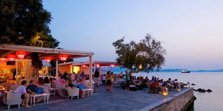 Naxos stad i Grekland.