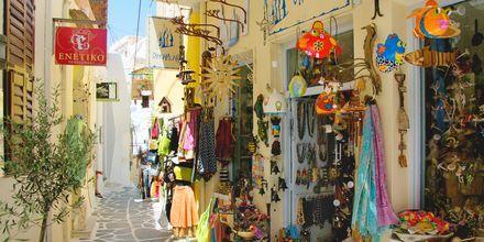 Butik i Naxos stad, Grekland.