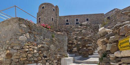 Fortet i Naxos stad, Grekland.