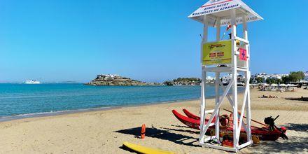 St George Beach i Naxos stad, Grekland.