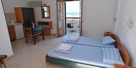 Enrumslägenhet på Hotell Neraida på Karpathos, Grekland.