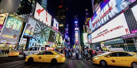 De gula taxibilarna är ett signum för New York.