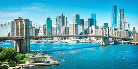 Brooklyn Bridge i New York.