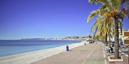 Strandpromenaden Promenade des Anglais.