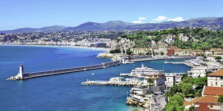 Hamnen i Nice.