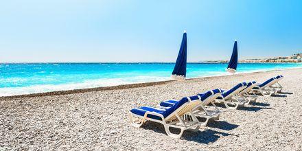 Stranden i Nice.