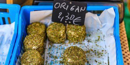 Matmarknad i Nice.