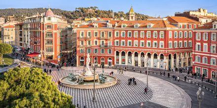 Place Massena i Nice.