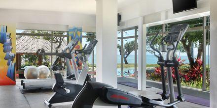 Gym på hotell Nikko Bali Benoa Beach i Tanjung Benoa, Bali.