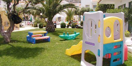 Lekplats på hotell Nikolas Villas vid Hersonissos på Kreta.