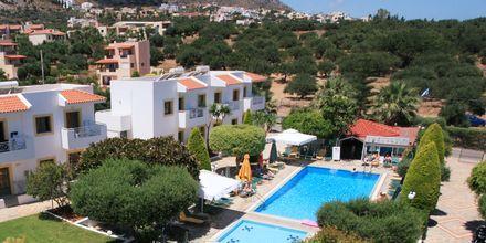 Hotell Nikolas Villas vid Hersonissos på Kreta.