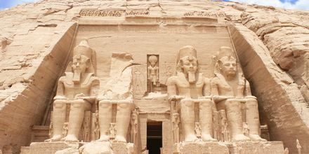 Vi rekommenderar att besöka Abu Simbel under stoppet i Aswan.