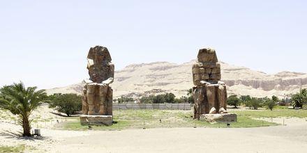 Memnonstoderna i Luxor.