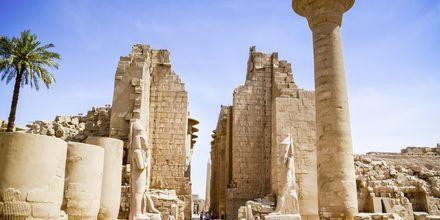 I Luxor upptäcker vi även Karnaktemplet.