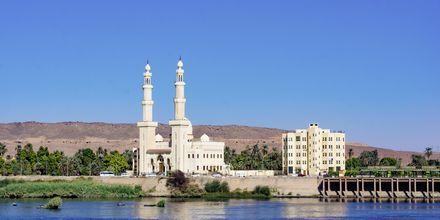 Den vackra staden Aswan besöks under Nilenkryssningarna.