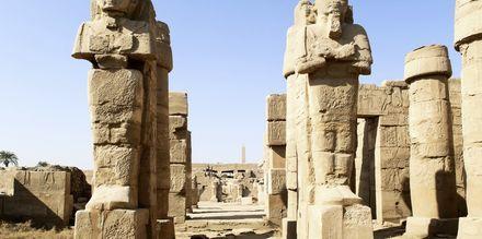 Karnak är en av världens mest kända platser som upptäcks under Nilenkryssningen.