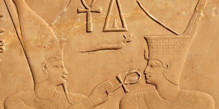 Karnaktemplet i Luxor, Egypten.