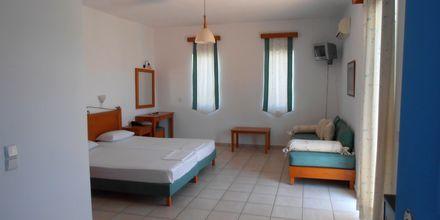 Enrumslägenhet på hotell Ninemia Beach i Agia Marina, Kreta.