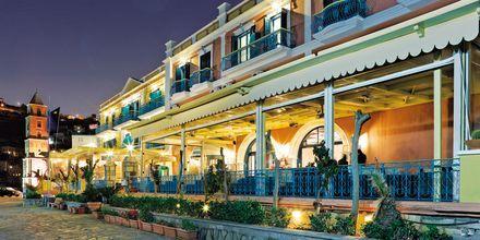 Hotell Nireus på Symi, Grekland.