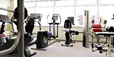 Gym på hotell Nissi Beach i Ayia Napa, Cypern.