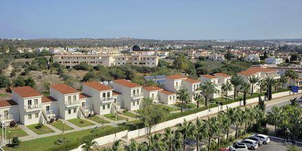 Hotellets bungalowområde där en- och tvårumslägenheterna är belägna