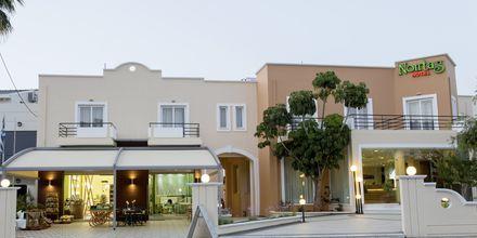 Entre på hotell Nontas på Kreta, Grekland
