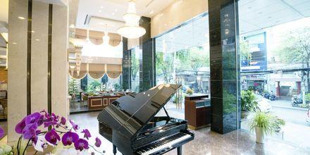 Lobbybar på hotell Northern Saigon, Vietnam.