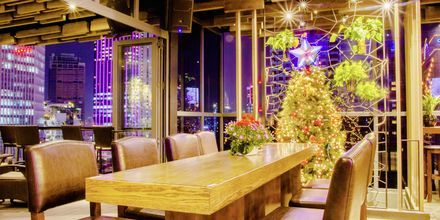 Restaurang på hotell Northern Saigon, Vietnam.
