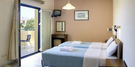 Enrumslägenhet på hotell Nostalgie i Georgiopolis, Kreta.
