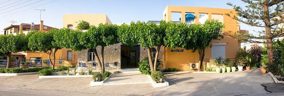 Hotell Nostalgie i Georgiopolis, Kreta.