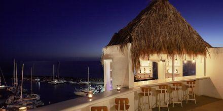 Bar på Notos Therme & Spa, Santorini.