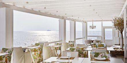 Restaurang på Notos Therme & Spa, Santorini.